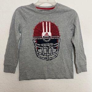 Boys Adidas Football Shirt Size 7X